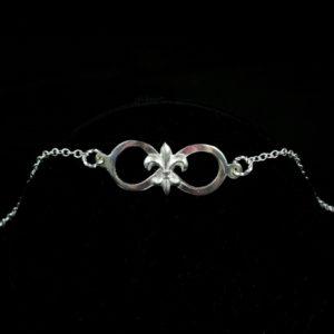 Eternally NOLA Silver Bracelet