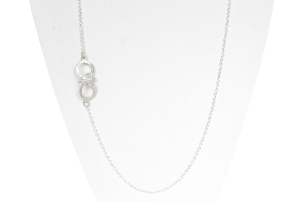 .999 Silver Infinity Necklace