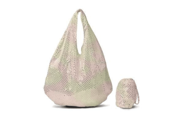 A Shimmering Champagne Tote