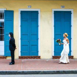Real Wedding: Sara + Chris {Destination New Orleans Wedding At The Chateau LeMoyne}