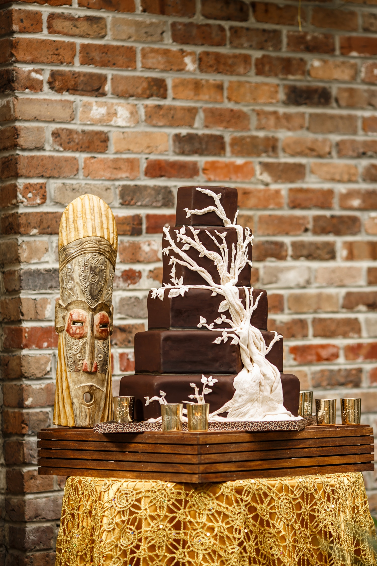 Gambino's Bakery Wedding Cake. Photo: North Photography