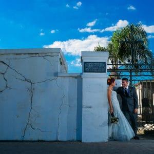 REAL WEDDING: ELBERT + HEATHER {A Haunting Love}