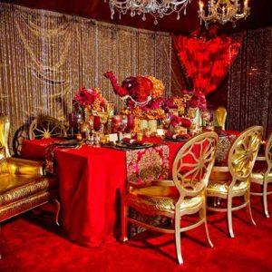 Globetrotting Decor: Indian Wedding Decor Ideas