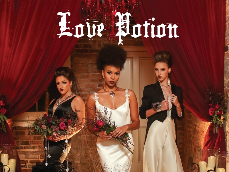 LOVE POTION :: FASHION FOR THE NON-TRADITIONAL BRIDE