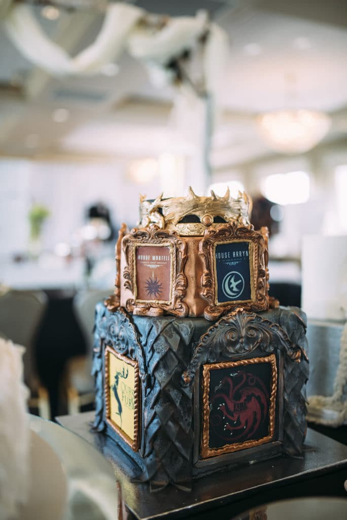 Gambino's Bakery Game of Thrones cake.