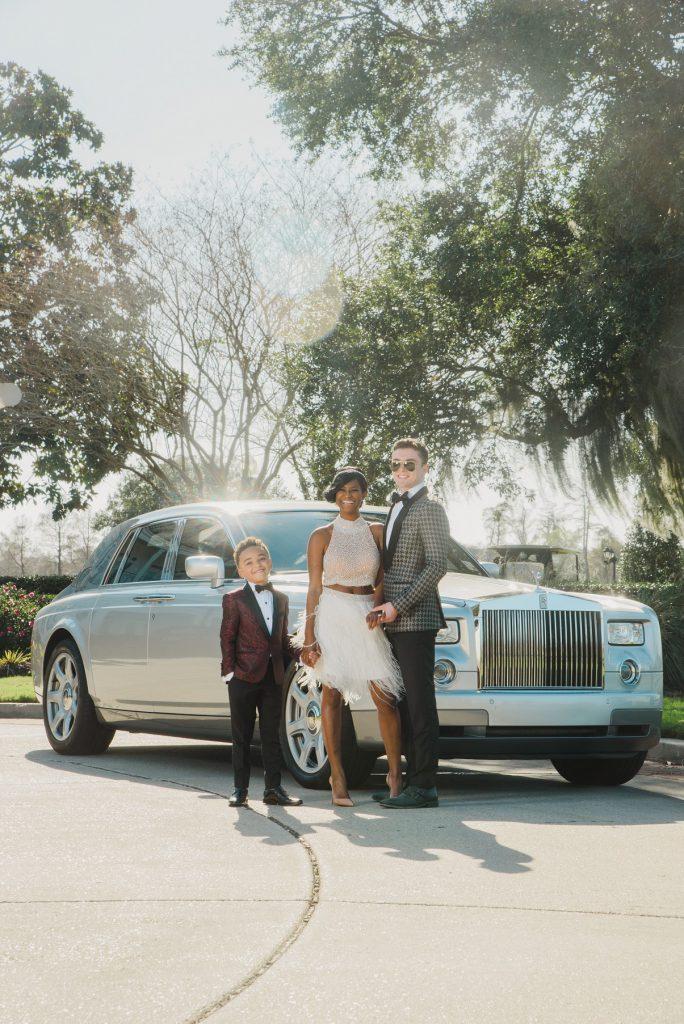 Rolls Royce Phantom by Millennium Limousine   PHOTOGRAPHER: Studio Tran