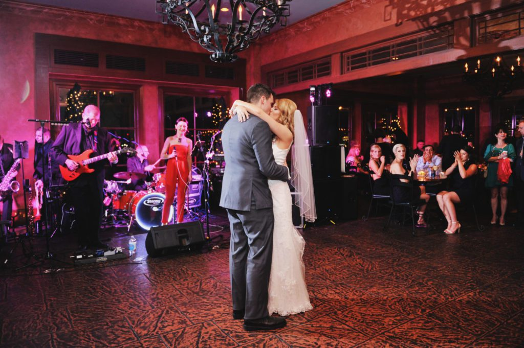 First dance at Pat O's on the River. Photo: Studio Tran