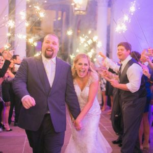 REAL WEDDING :: COURTNEY + PHILIP {Fountain Of Love}