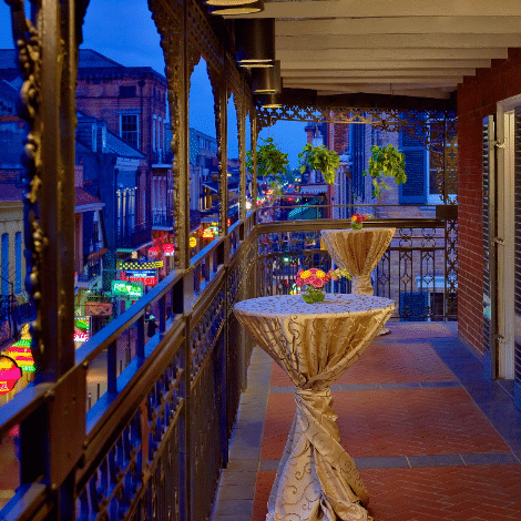 Royal Sonesta Bourbon Street Balcony