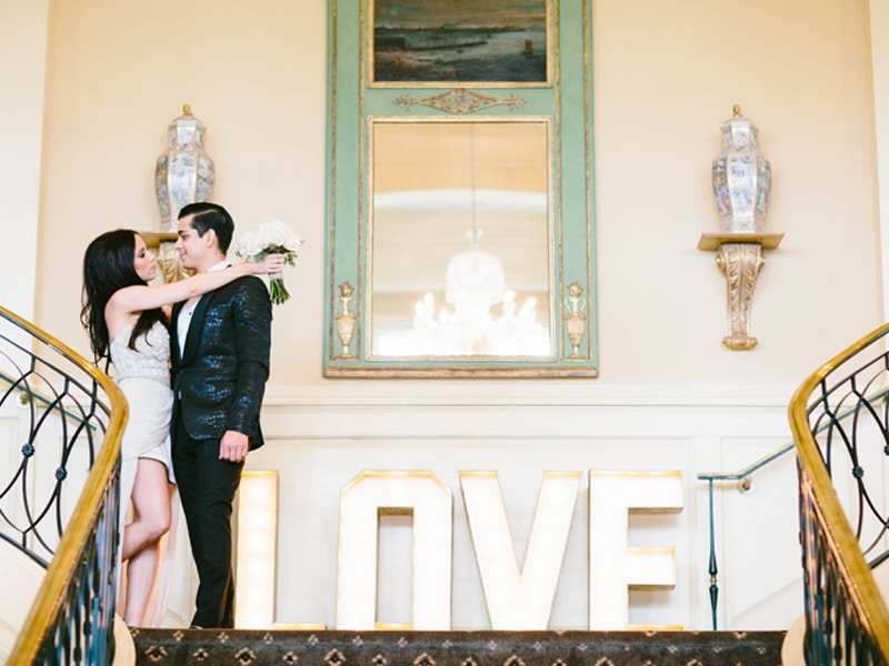 REAL WEDDING :: JEWEL + PHILIP {LOVE AT FIRST SIGHT}