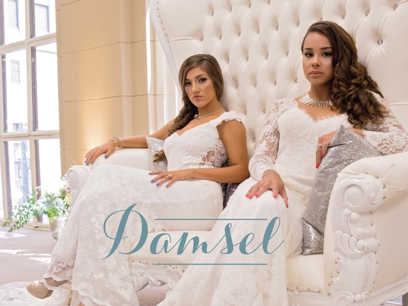 DAMSEL :: EMPOWERING BRIDAL GOWNS