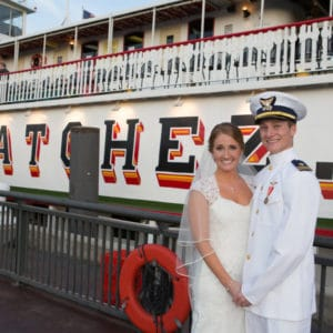 REAL WEDDING :: MARY CATHERINE + CARL {MEMORIES ON THE NATCHEZ}
