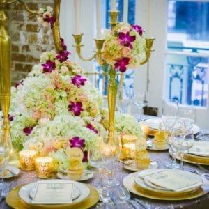 Floral Table Decor Editorial Hydrangea – Spring 2013