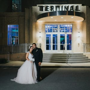 REAL WEDDING:: Art Deco Details {Bruce + Brianna}