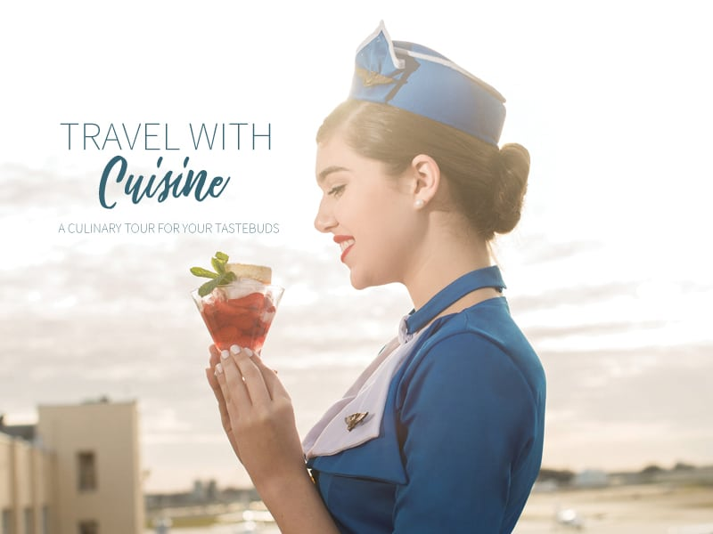 TRAVEL WITH CUISINE :: A CULINARY TOUR FOR YOUR TASTEBUDS