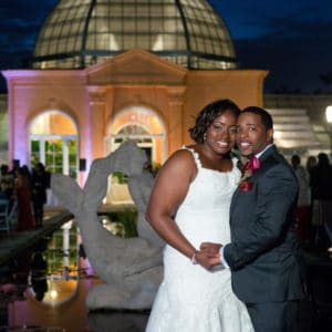 REAL WEDDING:: Intimate Garden Ceremony In City Park {Lamar + Patrice}