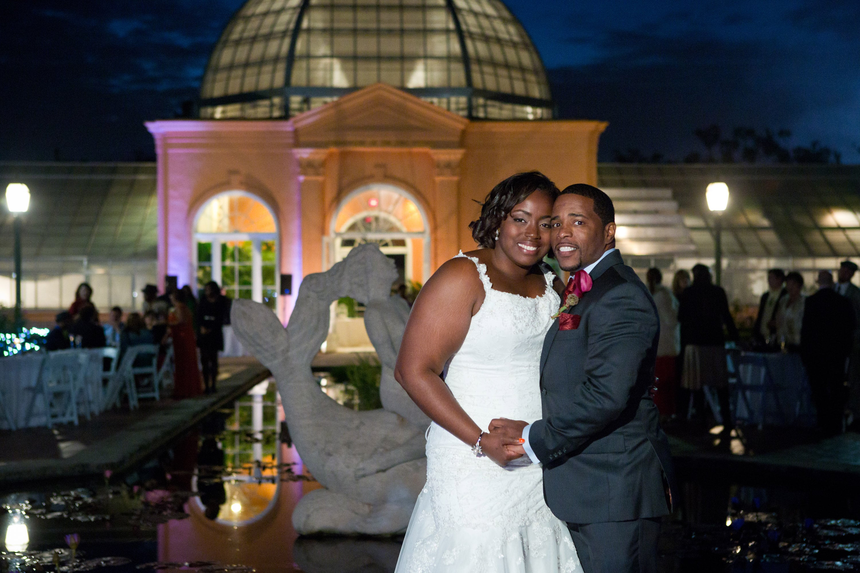 REAL WEDDING:: Intimate Garden Ceremony In City Park {Lamar + Patrice}