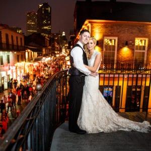 REAL WEDDING :: ALLIE + NICK {FRENCH QUARTER HALLOWEEN}
