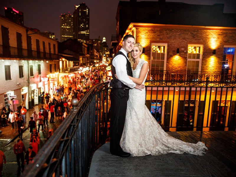 REAL WEDDING :: ALLIE + NICK {FRENCH QUARTER HALLOWEEN}