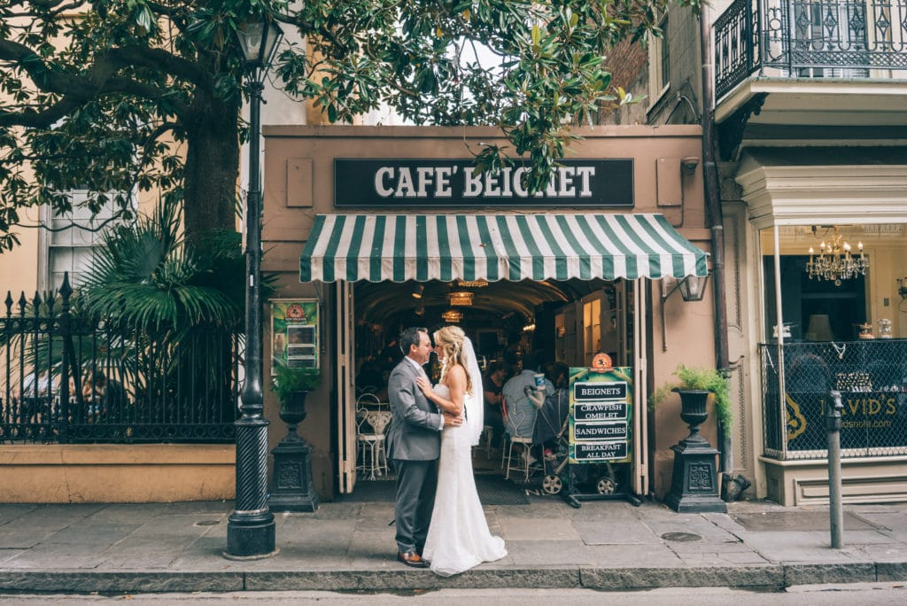 REAL WEDDING :: ANNETTE + CARLOS {Destination NOLA}