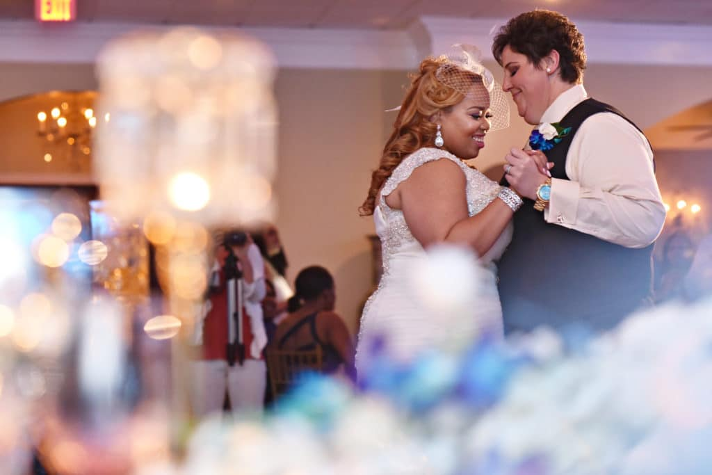 REAL WEDDING:: NATALIE + KITTY (Can't Help Falling In Love)
