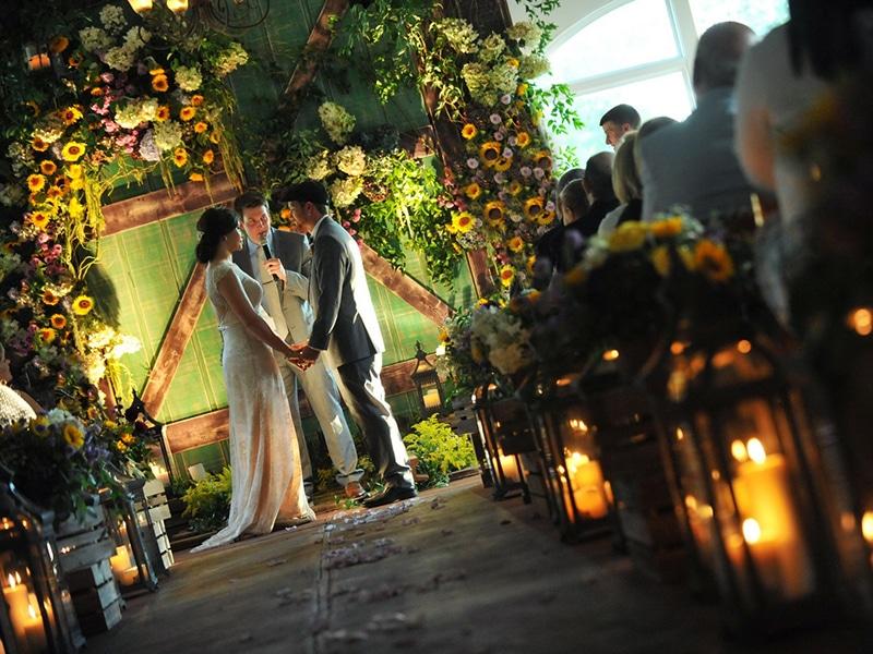 REAL WEDDING :: ELIZABETH + JOSEPH {GLORIOUS GARDEN|