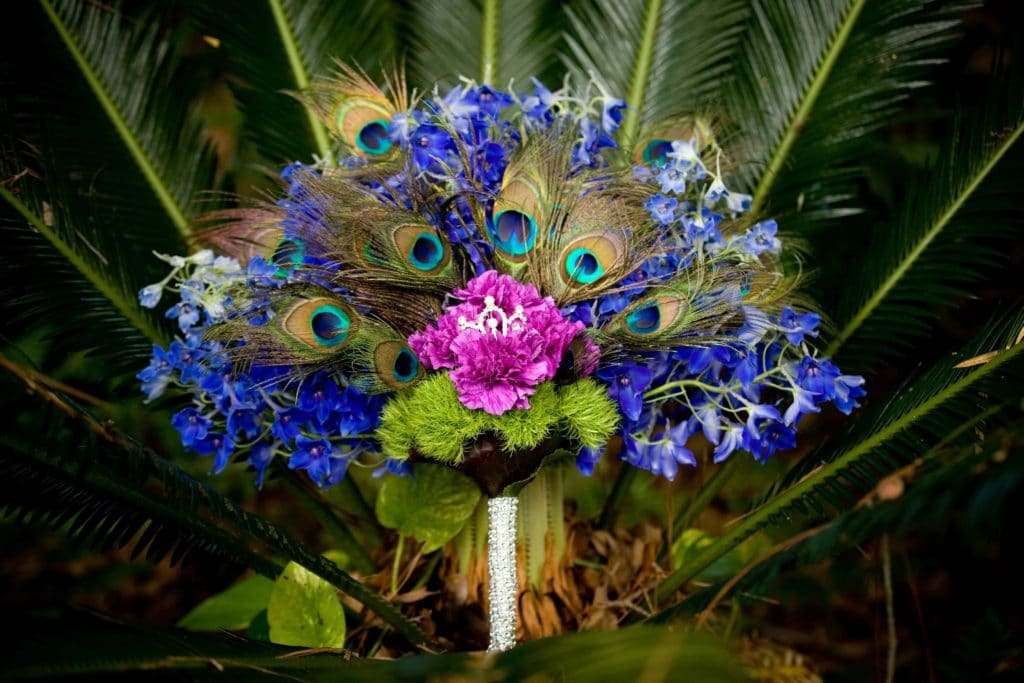 Colors Worth Catching – Violet Bouquets
