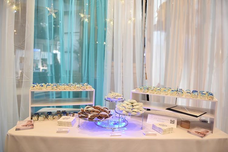 Something Blue Bridal Event Sweet Shop treats from Joe Gambino's Bakery