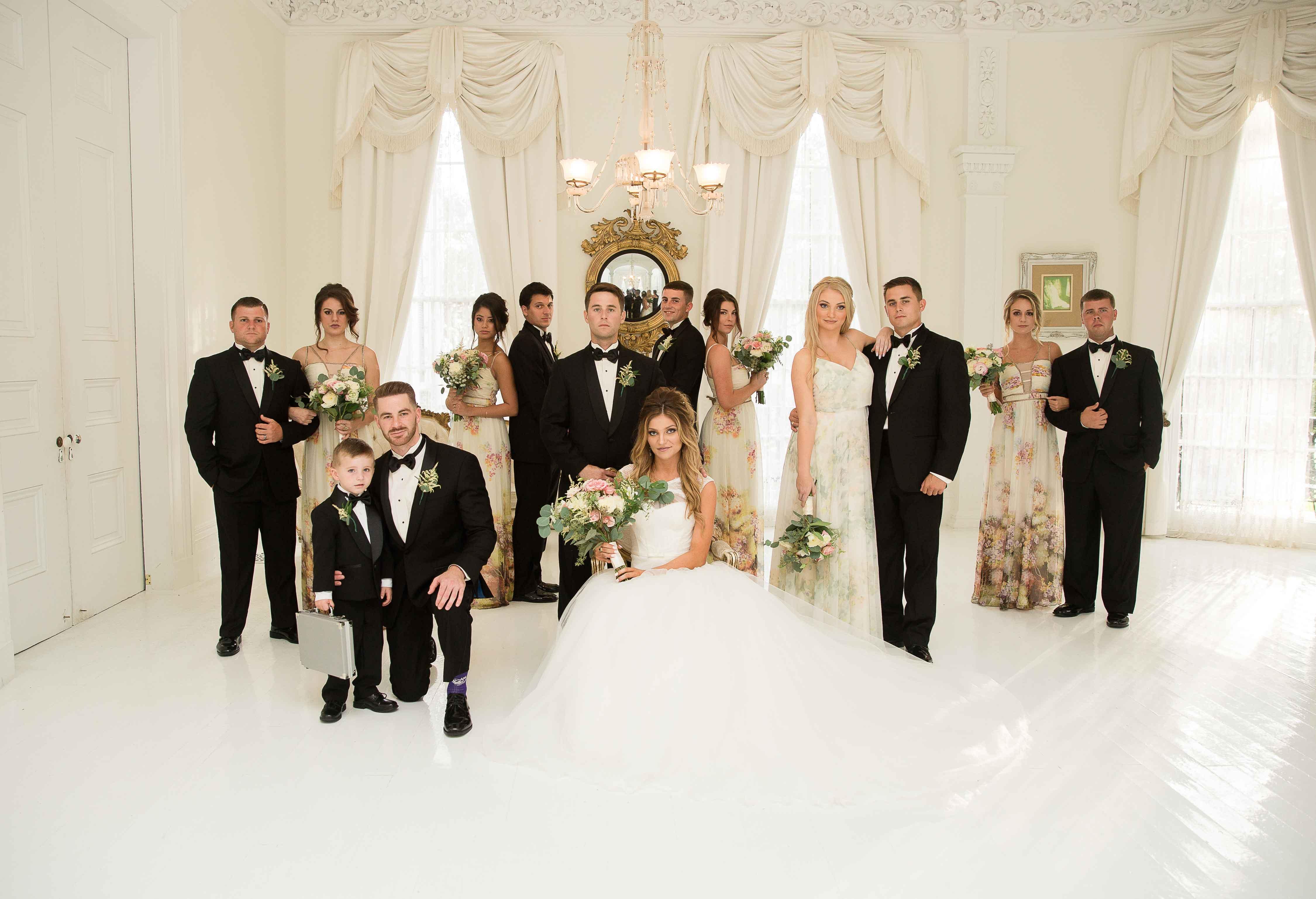 Real Wedding: Josie + Drew {Nottoway Nuptials}