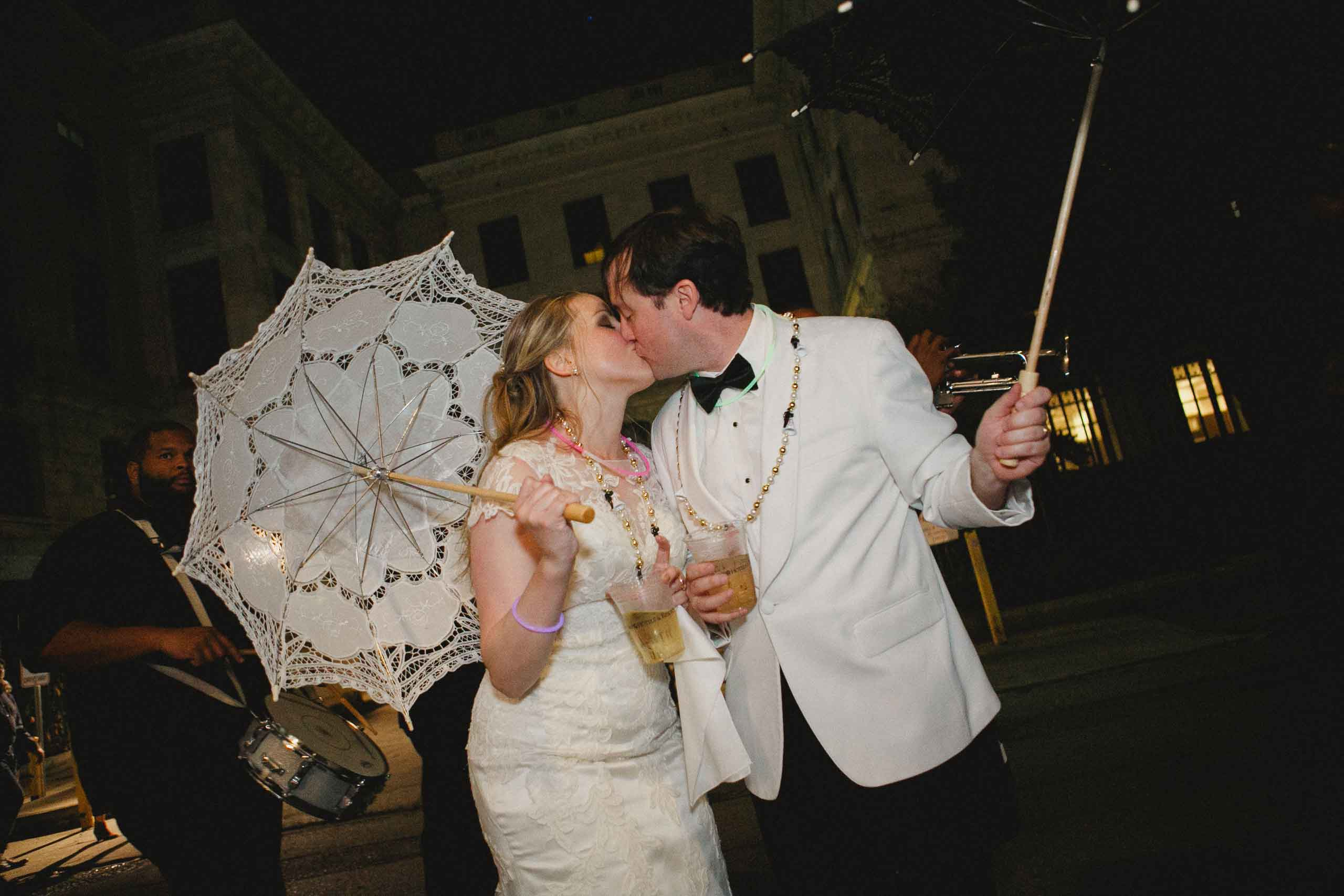 Real Wedding: Holly Lambert & Steven Mars {A Fabulously Floralized French Quarter Wedding}