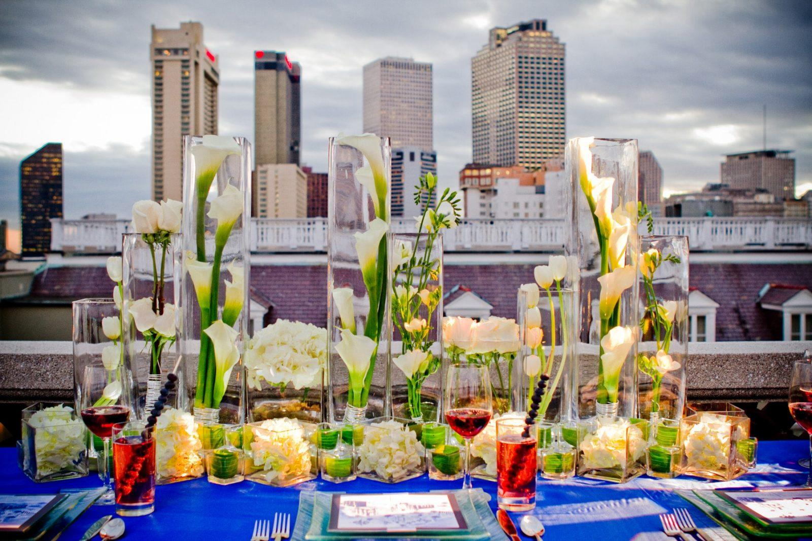 Globetrotting Decor: Big City Wedding Decor Ideas