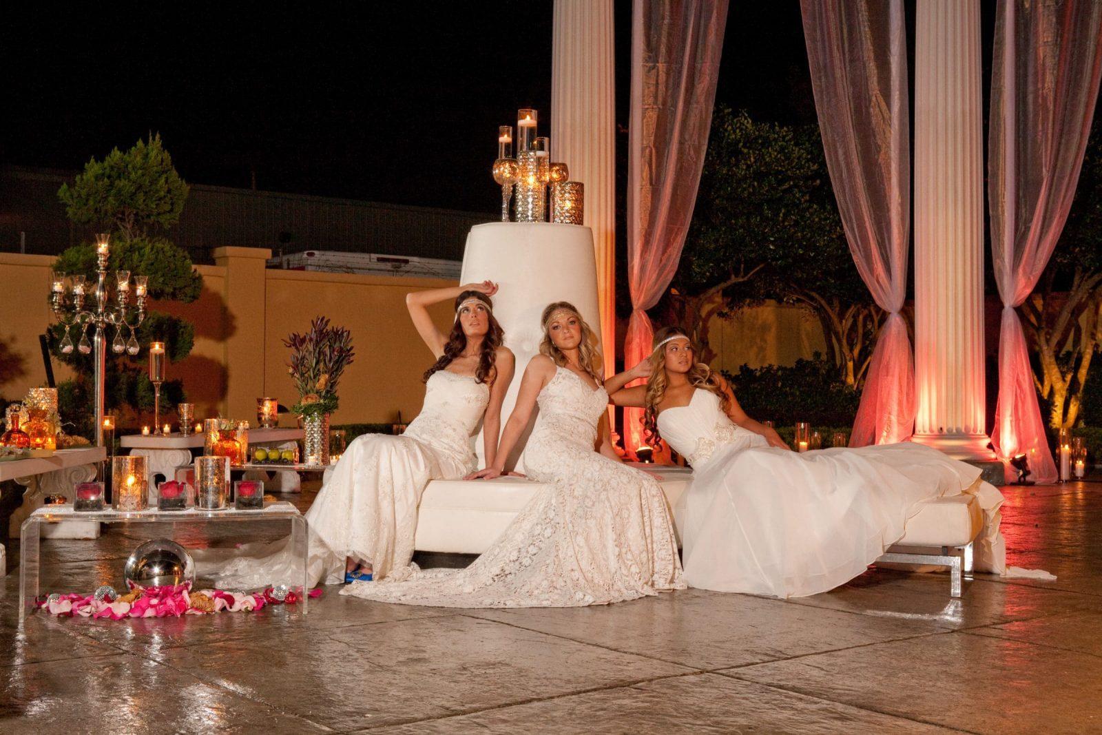Garden Goddesses Bridal Fashion Editorial – Spring 2012