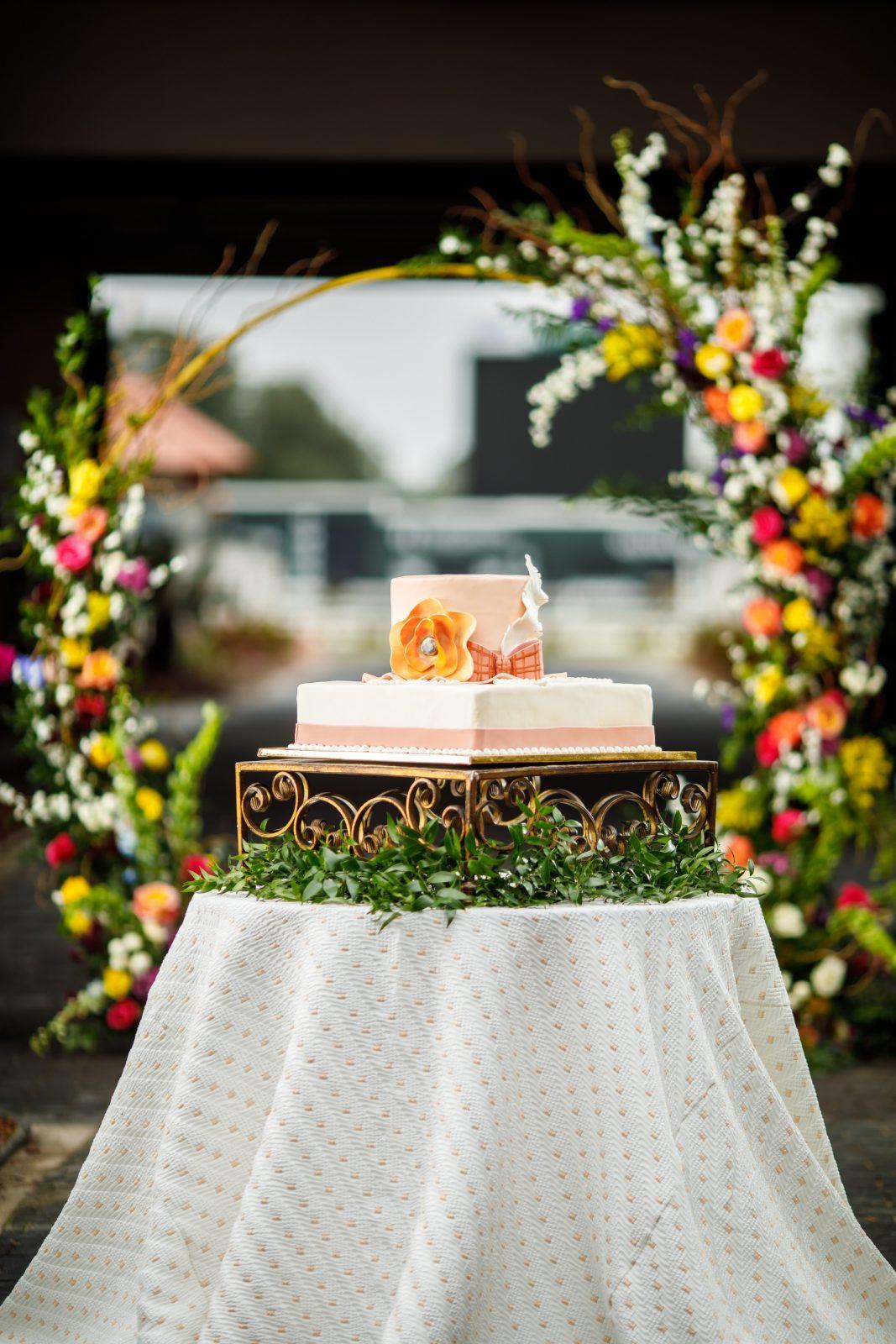 Gambino's Bakery Day at the Races cake. Photo: North Photography