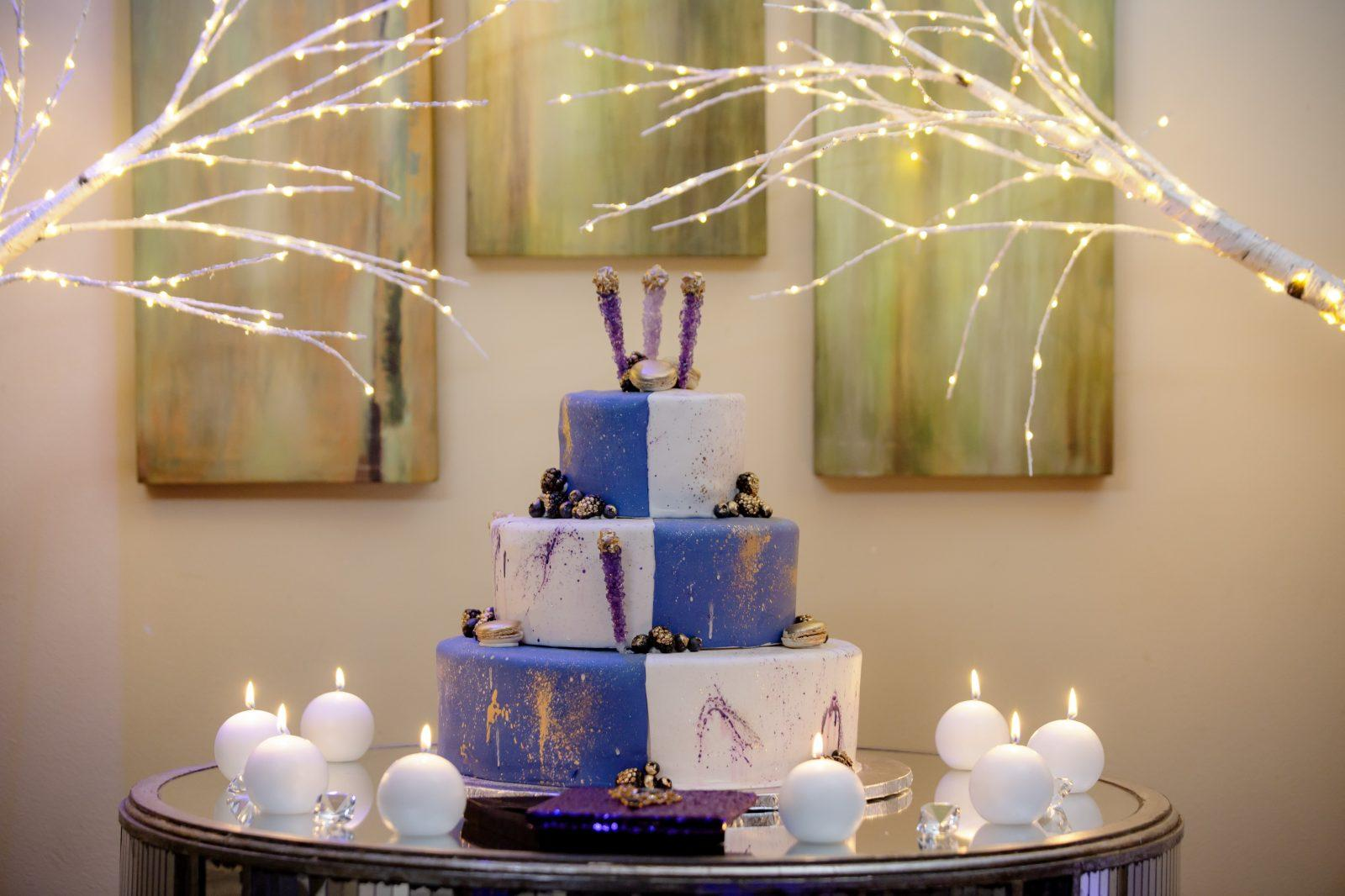 Gambino's Bakery Purple Rain cake. Photo: Brian Jarreau Photography