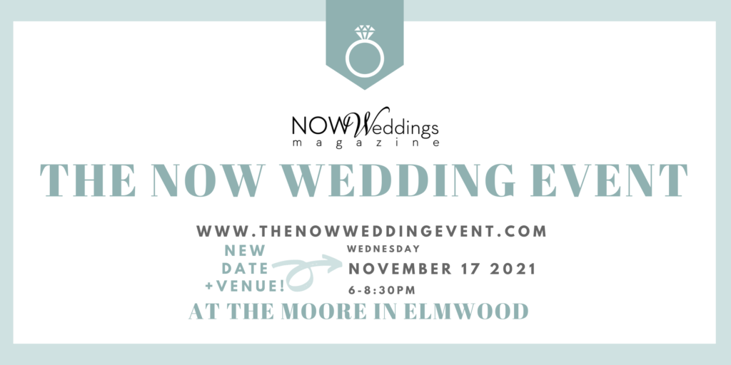 The NOW Wedding Event at The Moore Venue Nov 17 2021