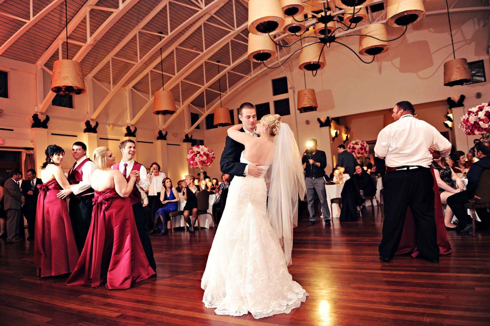 Bridal Party dance at the Audubon Tea Room. Photo: Studio Tran