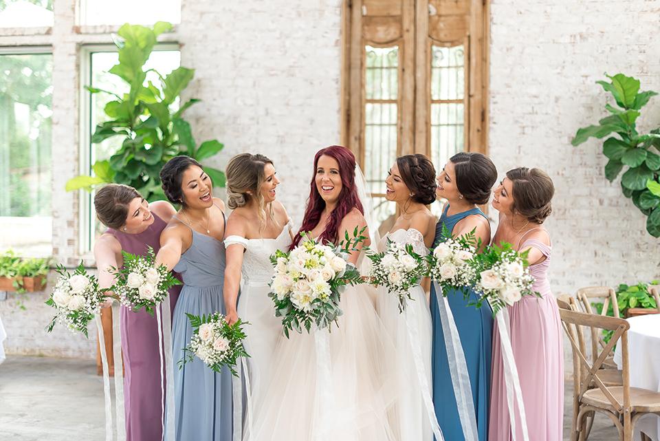 Dazzle Doll bridal party. Photo: Megan Crawford Photography