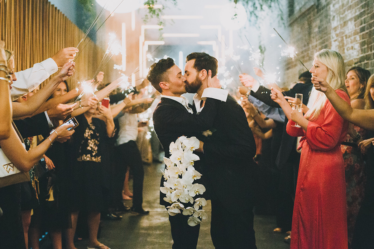 REAL WEDDING:: Justin Small + Kane Honea