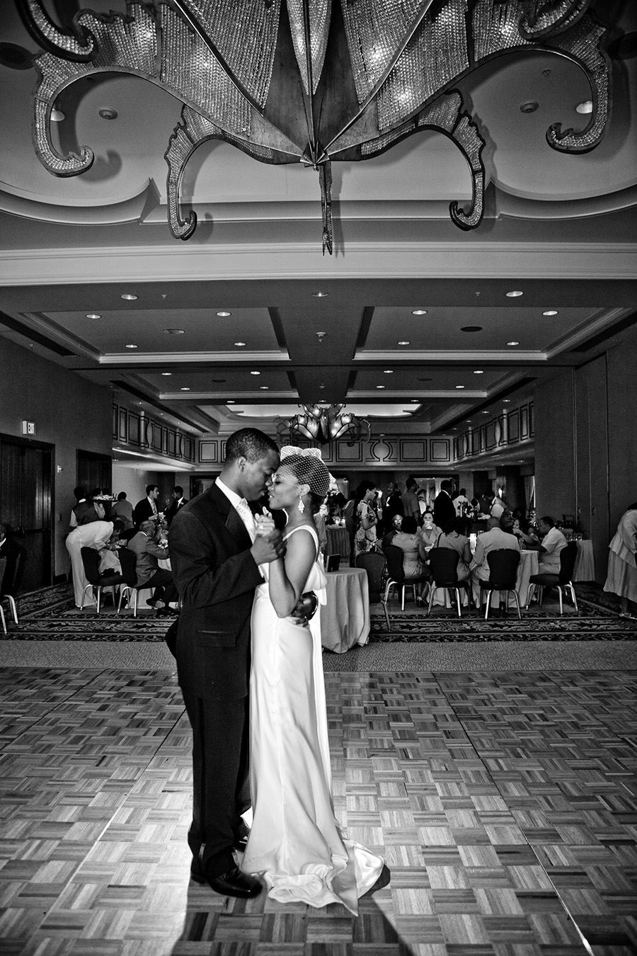 First Dance Loews New Orleans Hotel Ballroom