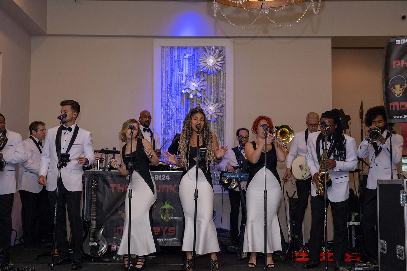 The Phunky Monkeys perform at Bridal Bash | Brian Jarreau Photography