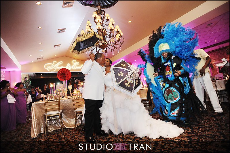 Second Line at Royal Palm. Photo: Studio Tran