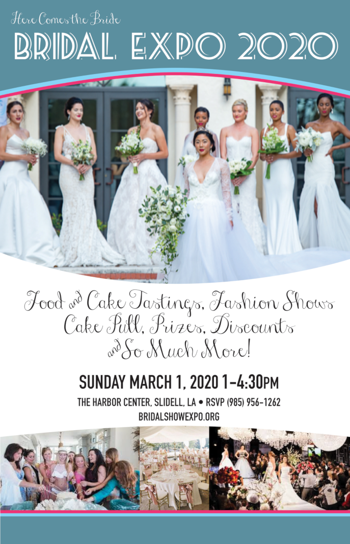 Here Comes the Bride Expo March 1, 2020