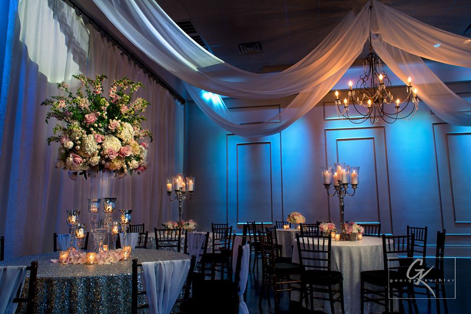 The Cannery set for a wedding reception. Photo: GK Photography