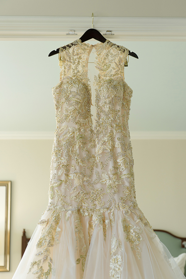 Doliecha's wedding gown.