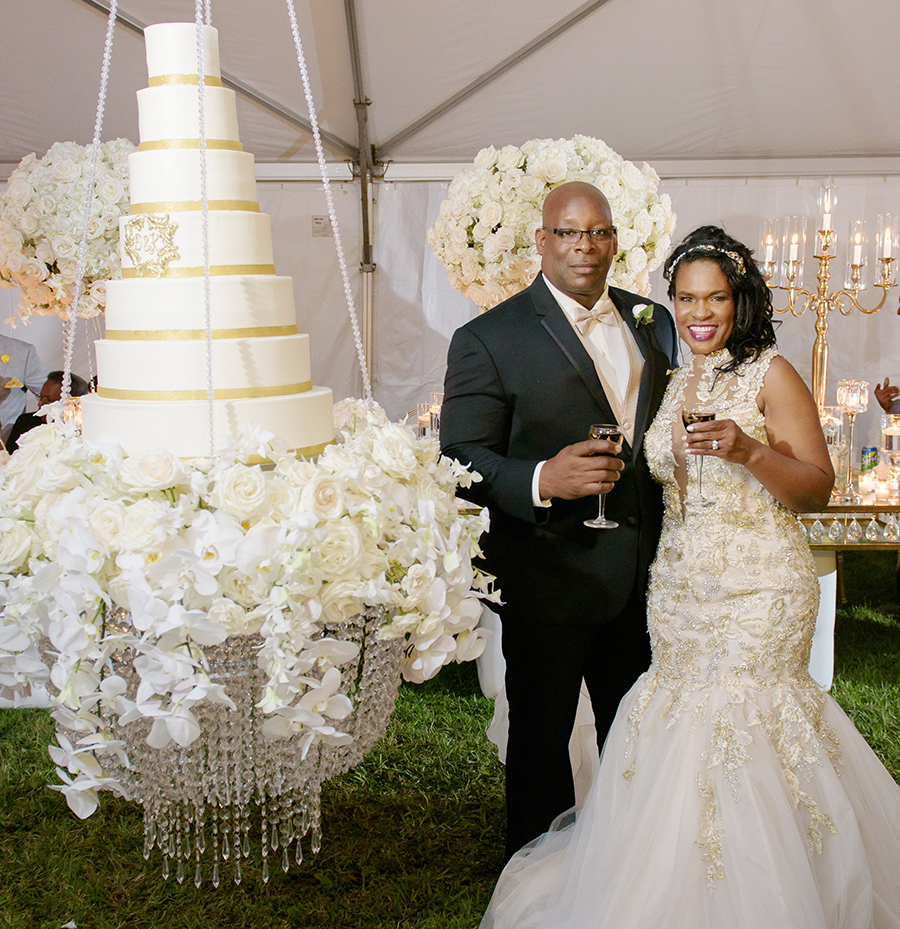 REAL WEDDING:: DOLIECHA WILSON + KENNETH BOUDOIN