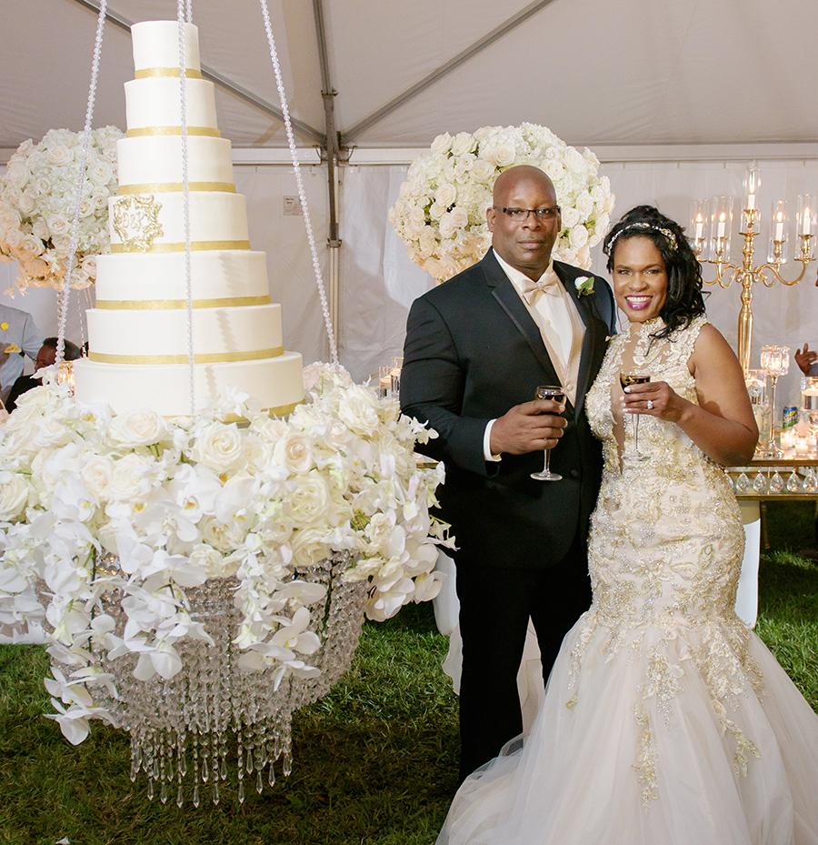 REAL WEDDING:: DOLIECHA WILSON + KENNETH BOUDOIN