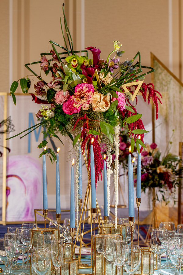 Rentals by True Value Rental | Florals by Mitch's Flowers | Floral Picks by Design a Latte Monograms