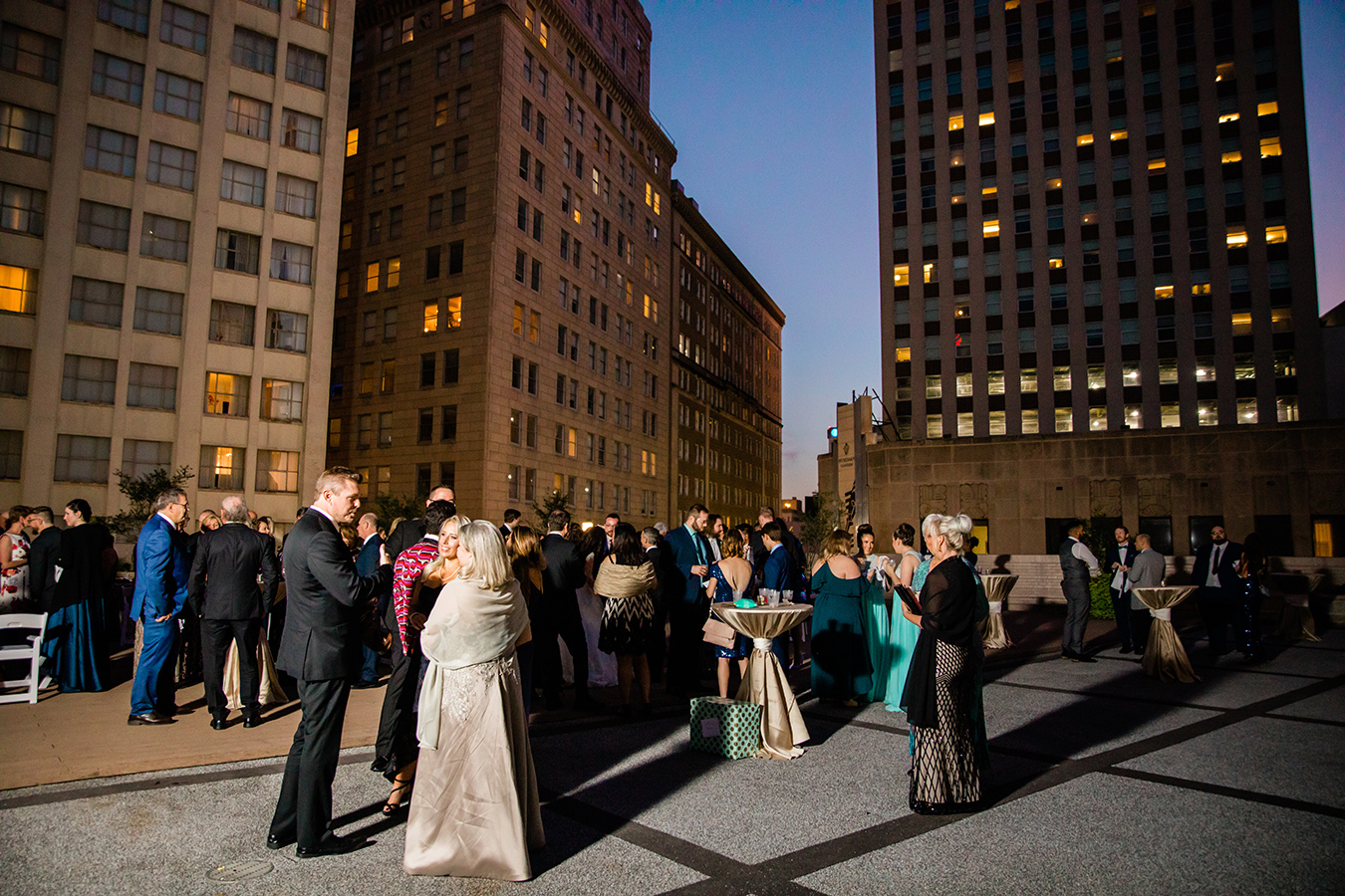 More than half of the couple's 140 guests travelled from Australia, including Jess' grandparents. The couple treated their guests to a truly New Orleans experience including a cocktail hour on the rooftop of the Roosevelt Hotel.