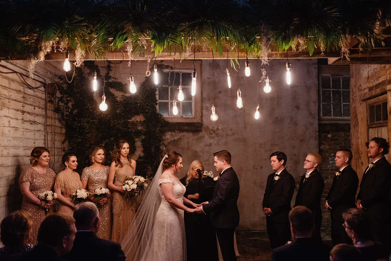 REAL WEDDING:: JEANNE SWITZER + DAN SANCHEZ {Meant To Be Loved Bayou}