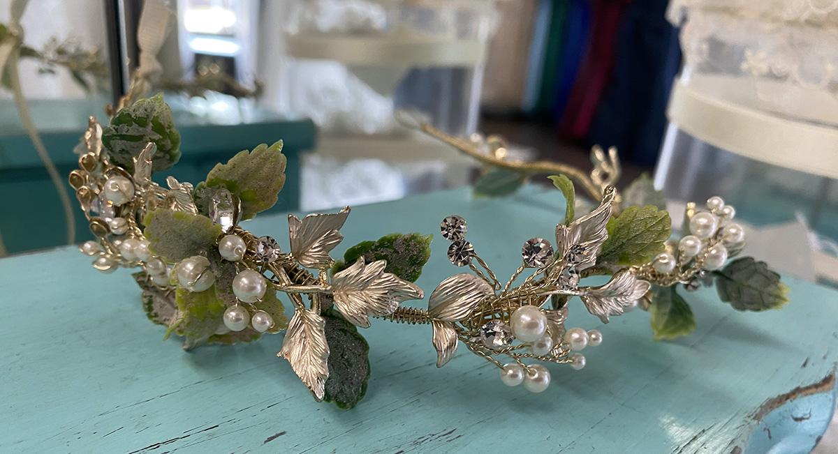 Floral Boho Headpiece | Pearl's Place Bridal